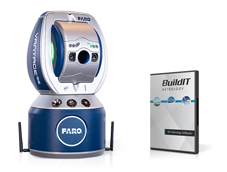 FARO Vantage Laser Trackers & BuildIT Metrology Software