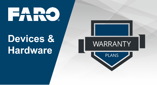 FARO hardware service plan overview