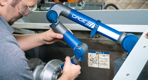 Gage FaroArm: As Quick as a Micrometer, as Accurate as a CMM