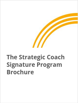 The Strategic Coach Signature Program Brochure