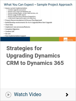 Strategies for Upgrading Dynamics CRM to Dynamics 365