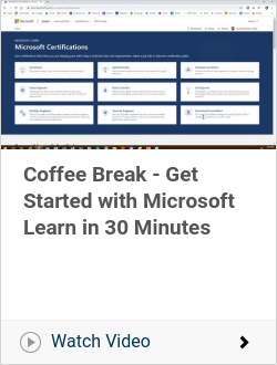 Coffee Break - Get Started with Microsoft Learn in 30 Minutes