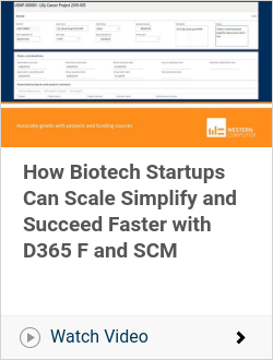 How Biotech Startups Can Scale Simplify and Succeed Faster with D365 F and SCM