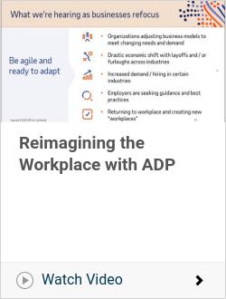 Reimagining the Workplace with ADP