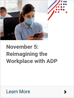 November 5: Reimagining the Workplace with ADP