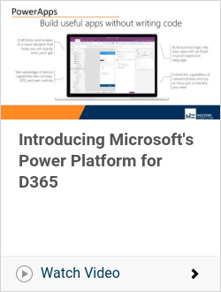 Introducing Microsoft's Power Platform for D365