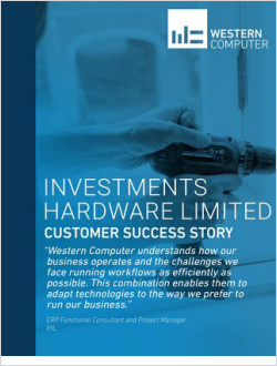 Customer Success Story: Investments Hardware Limited