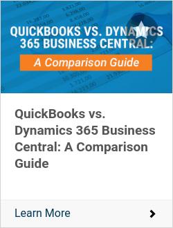 QuickBooks vs. Dynamics 365 Business Central: A Comparison Guide