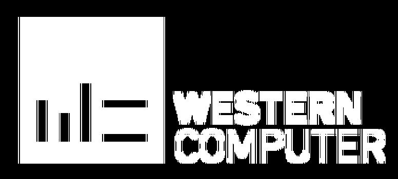 Western Computer logo