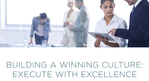 Building a Winning Culture - Execute With Excellence