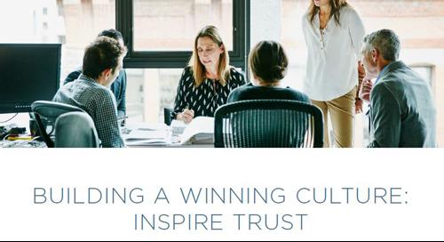 Building a Winning Culture - Inspire Trust