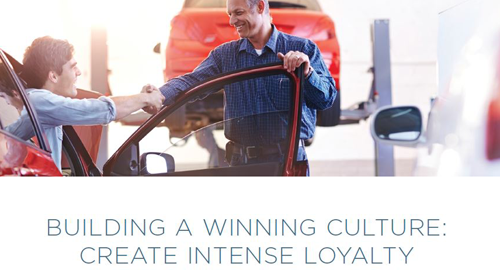 Building a Winning Culture: Create Intense Loyalty