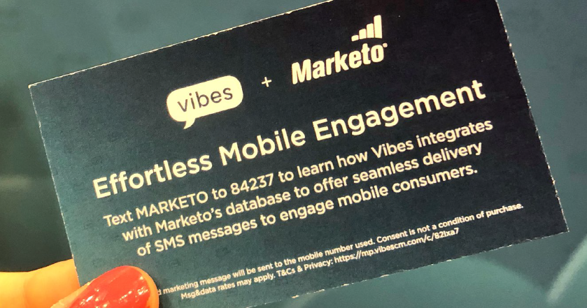 Vibes + Marketo = Better Together