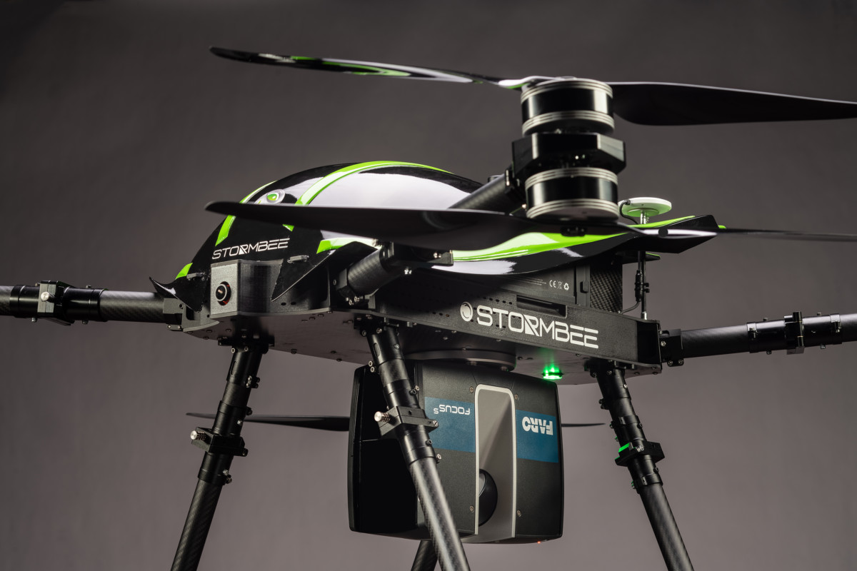 FARO STORMBEE drone with Focus Laser Scanner