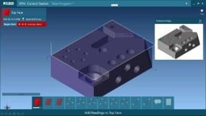 FARO® CAM2® 2018 presenta la innovadora estación de control Repeat Part Management (RPM) (gestión de la repetición de partes) para facilitar la inspección de rutinas guiadas y controladas de piezas, que se pueden compartir en cualquier lugar de su empresa.