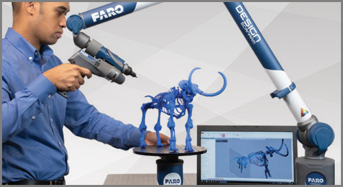[FOLHA TECNICA]  FARO 8-Axis Design ScanArm 2.5C