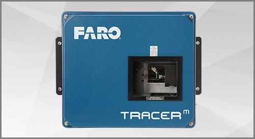 [FOLHA TÉCNICA] FARO Tracer M Laser Projector