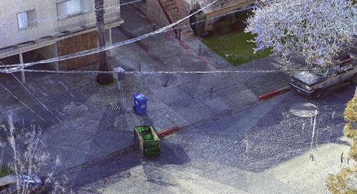O FARO Focus Laser Scanner é usado para esclarecer filmagem de câmera presa ao corpo