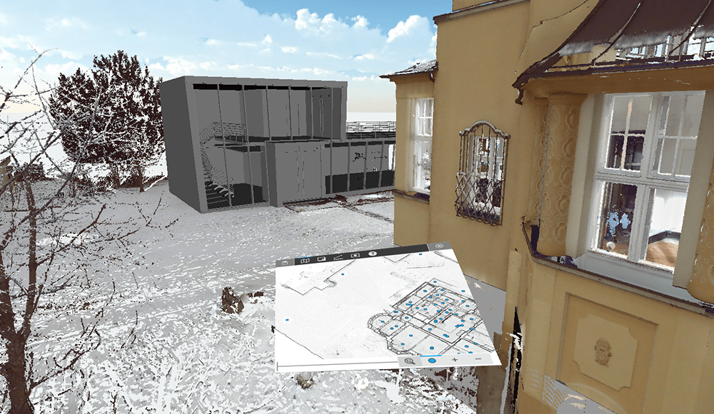 FARO Scene com Realidade Virtual