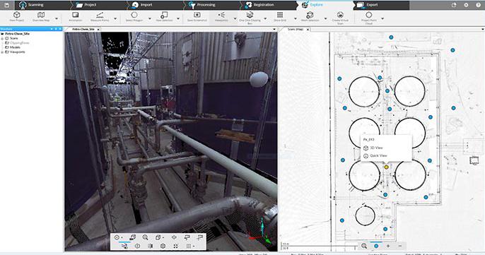 FARO Scene Construction Software