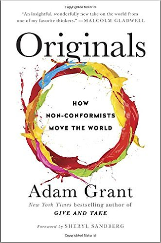 Originals: How Non-Conformists Move the World Book Cover