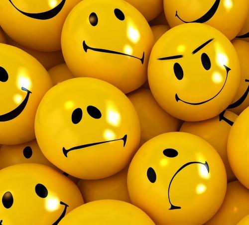 Frowning emojis