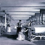 workers in cotton mills in the 1790s