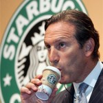 Photo of Howard Schultz of Starbucks