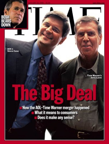 AOL Time Warner magazine image