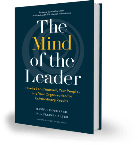 The mind of the leader book