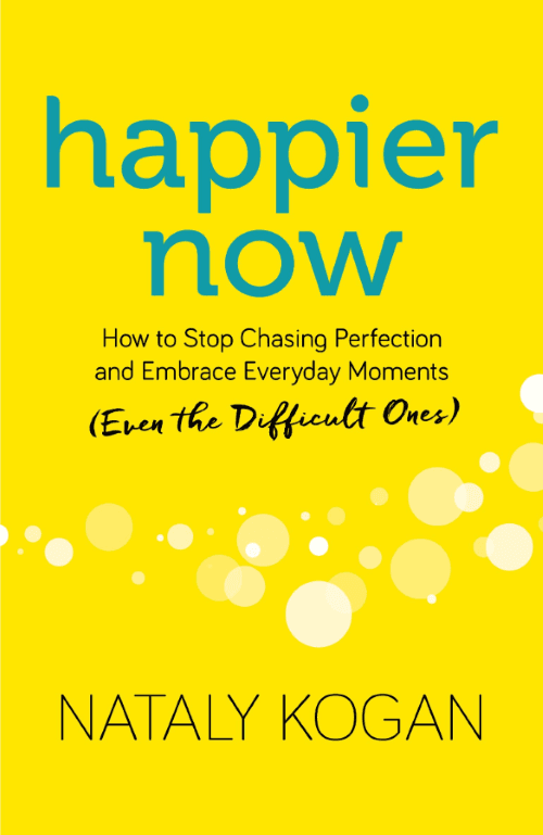 Happier Now Book Cover