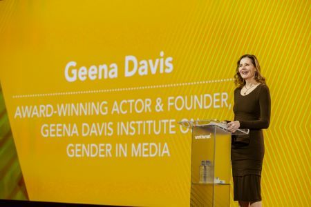Geena Davis Speaking