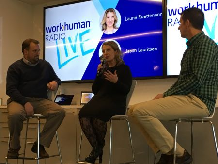 Episode of WorkHuman Radio Live