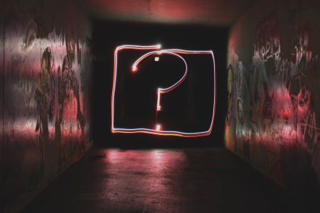 Question Mark LED Symbol