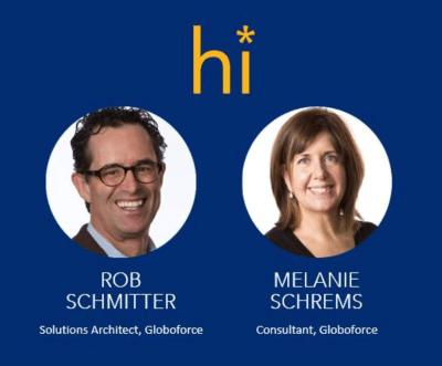 Rob Schmitter and Melanie Schrems