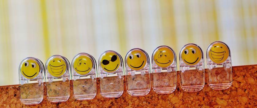 Smiley Face Clips