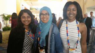 two new WorkHuman Fellows who won the 2016 essay contest