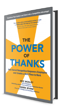 The power of thanks book cover