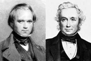 Picture of Charles Darwin and Rev. John Henslow