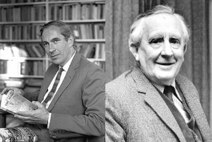 Picture of Raynor Unwin and J.R.R. Tolkien