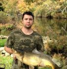 Picture of Chris's St. Croix with a fish