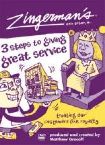 Book cover of Zingerman's Guide to Giving Great Service