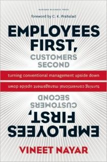 Book cover of Employees First, Customers Second Turning Conventional Management Upside Down