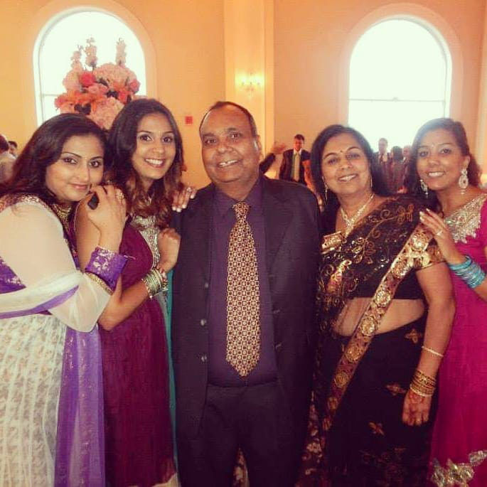Roshni and her family