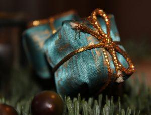 Gift on tree