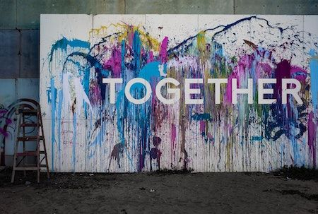together graffiti