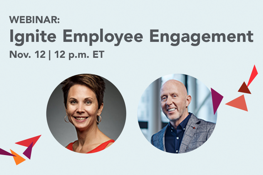 ignite employee engagement webinar