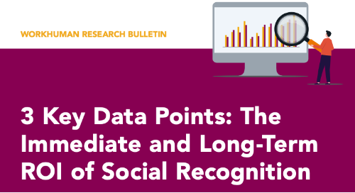 3 Key Data Points: The Immediate and Long-Term ROI of Social Recognition