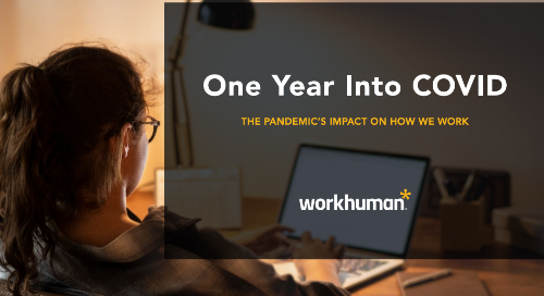 One Year Into COVID: The Pandemic's Impact on How We Work