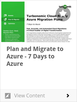 Plan and Migrate to Azure - 7 Days to Azure